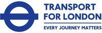 blue transport for london logo tfl every journey matters